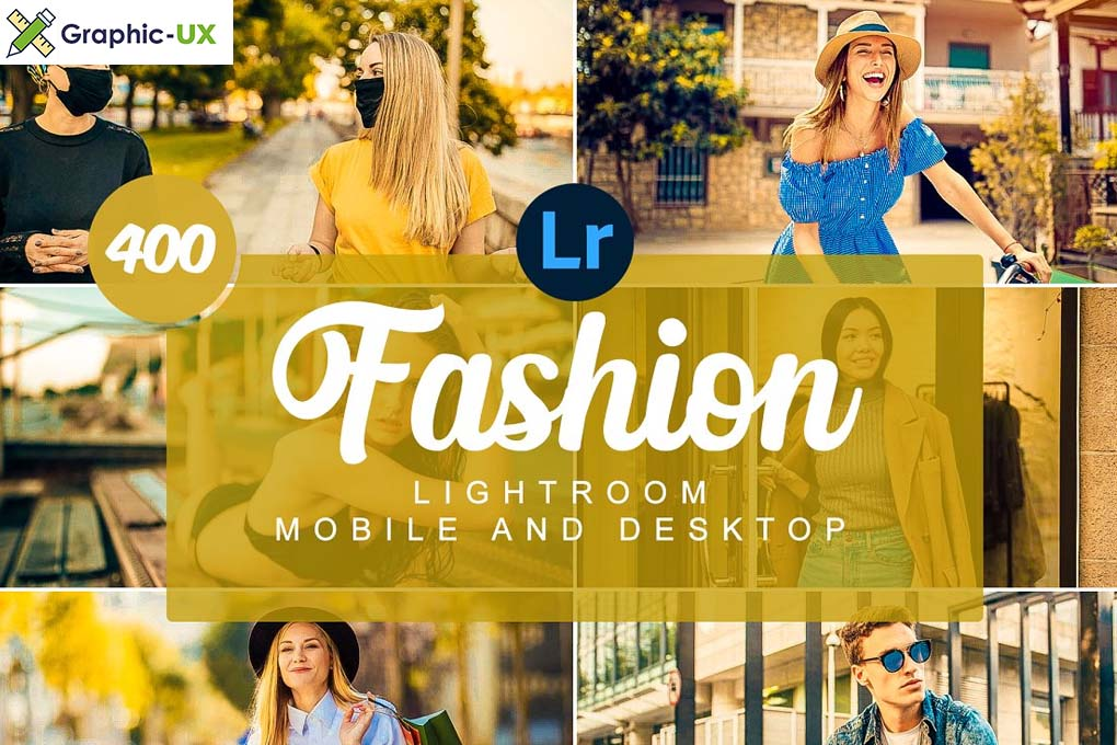 Fashion Mobile and Desktop PRESETS