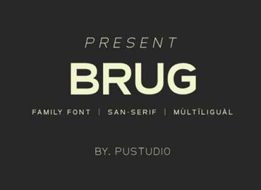 Brug Font