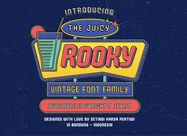 Juicy Rooky Vintage Family