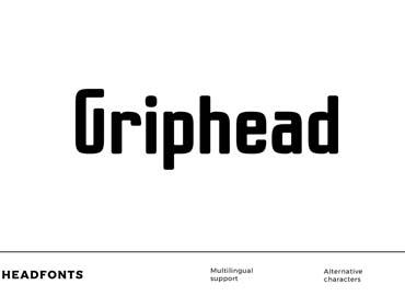 Griphead Font