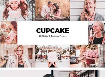 20 Cupcake Lightroom Presets and LUTs