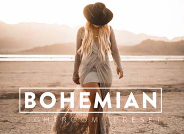 10 BOHEMIAN Lightroom Mobile Preset