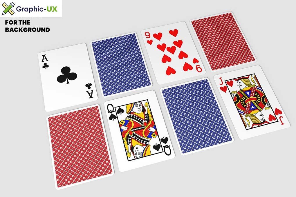 Playing Cards Mockups - V.4 - 14 Views