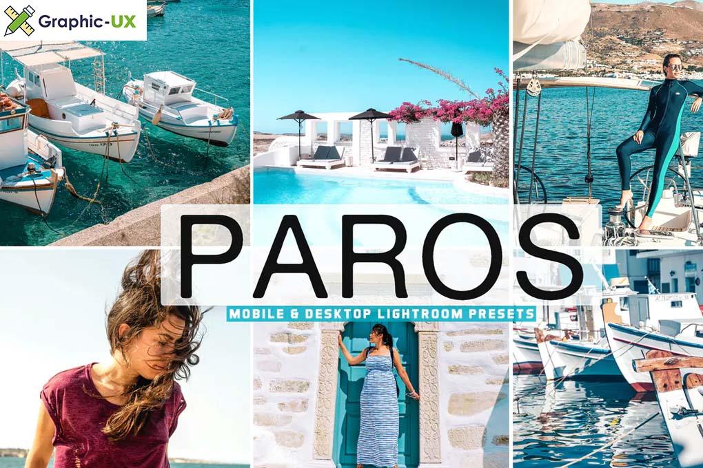 Paros Mobile & Desktop Lightroom Presets