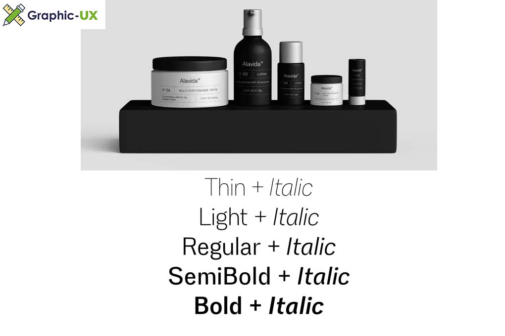 Eirene Sans Font Family [4-Weights]