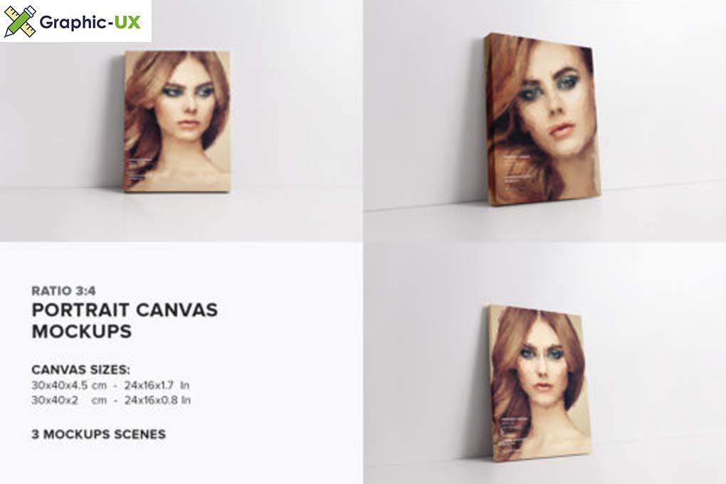 Canvas Mockups Bundle 2