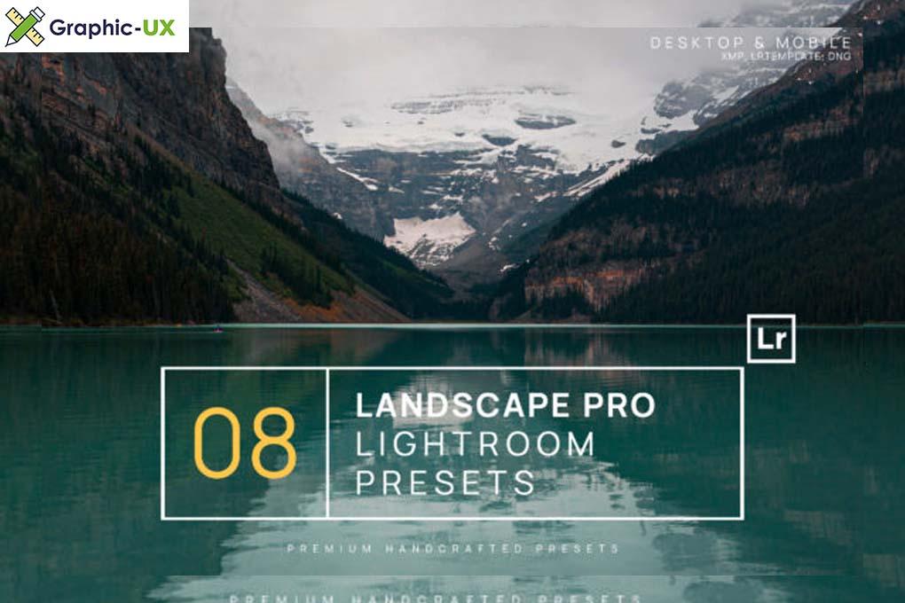 8 Landscape Pro Lightroom Presets