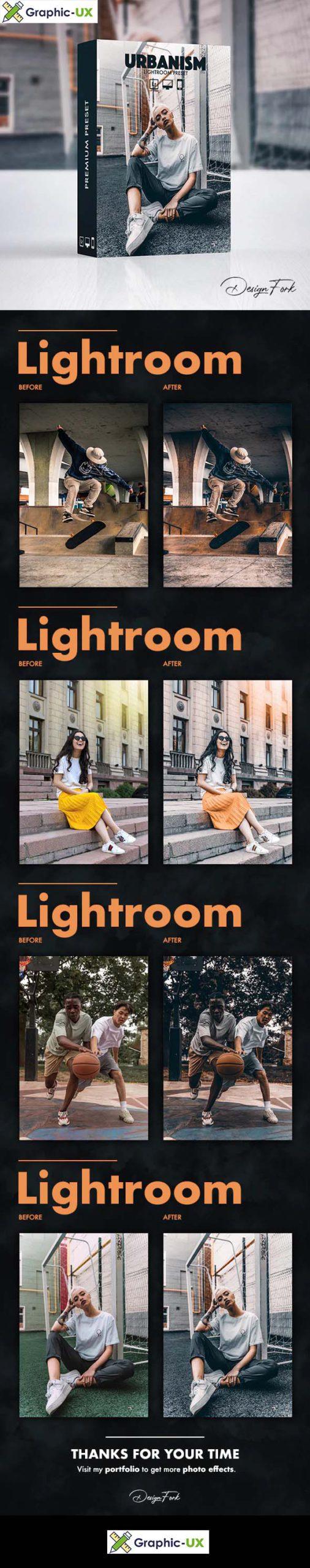 Urbanism FX Lightroom Preset