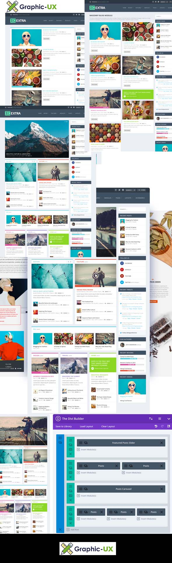 Extra v4.0.5 – Elegantthemes Premium WordPress Theme