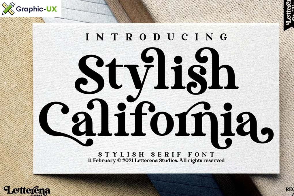 Stylish California Font