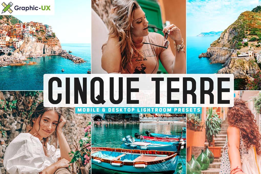 Cinque Terre Mobile & Desktop Lightroom Presets