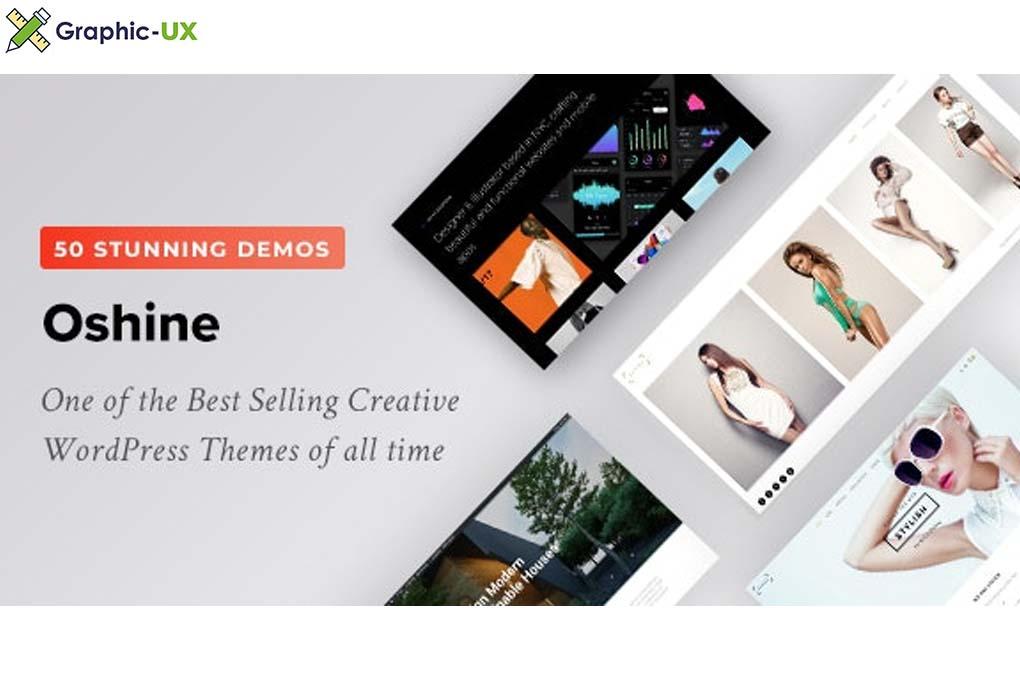 Oshine v6.8.5 – Creative Multi-Purpose WordPress Theme