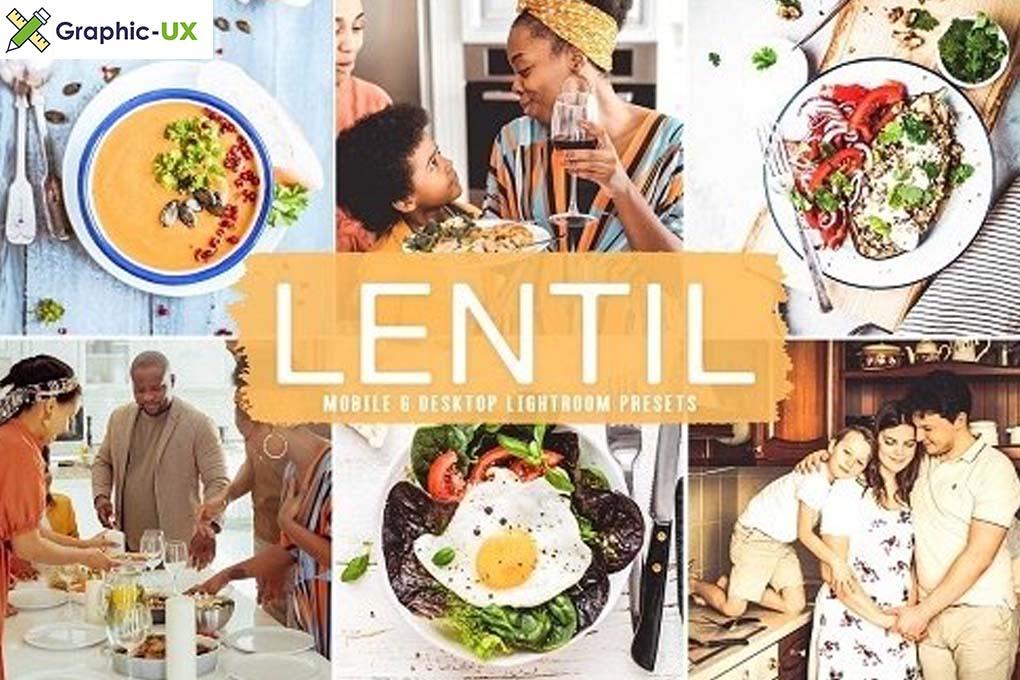 Lentil Pro Lightroom Presets