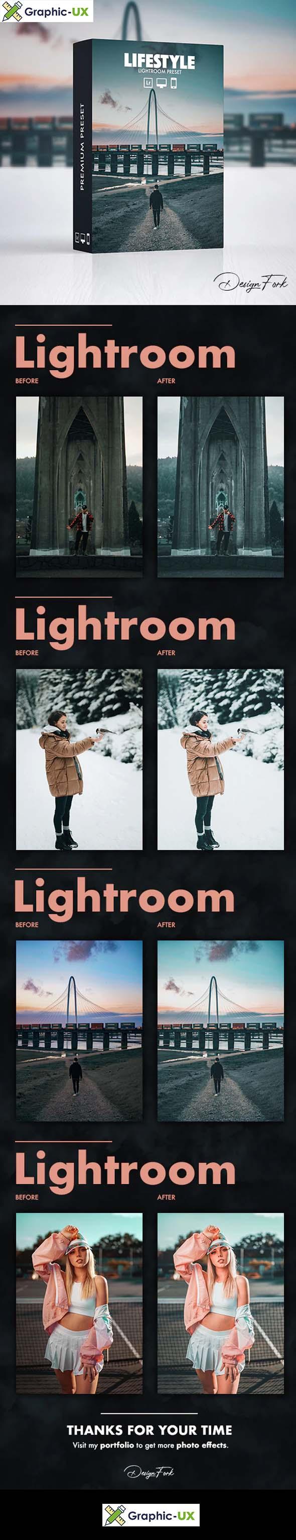 Lifestyle FX Lightroom Preset