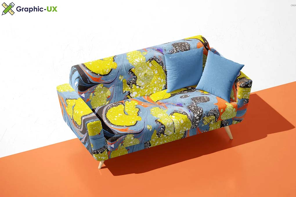 Modern Sofa Mockup Set (29FFv.10)