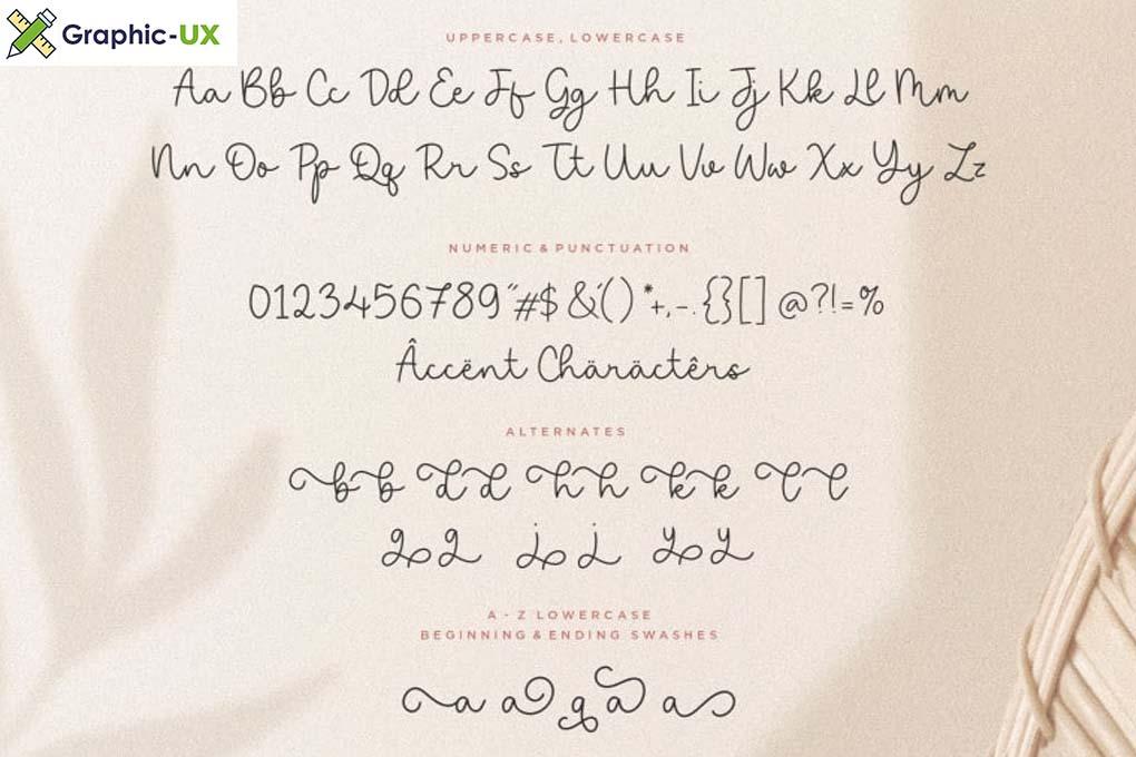Saylora Script Font