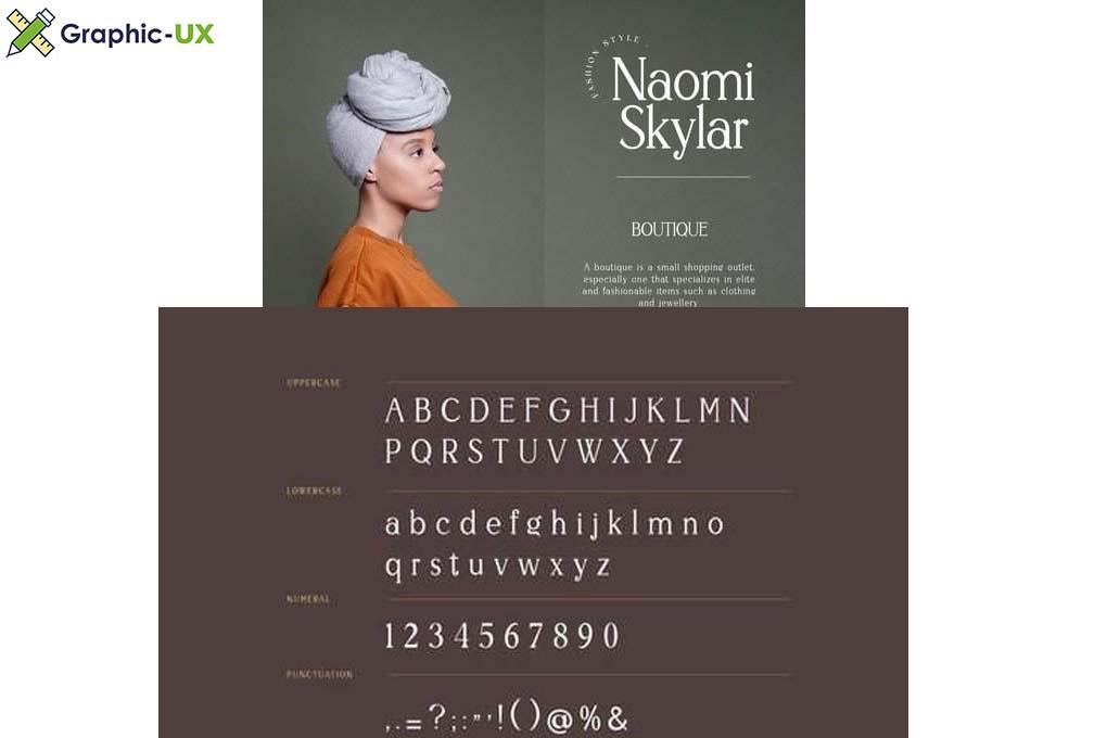 Weigeland Serif Font