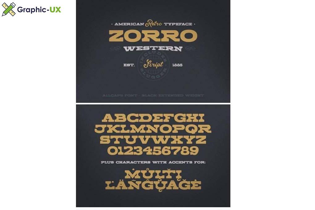 Zorro Font