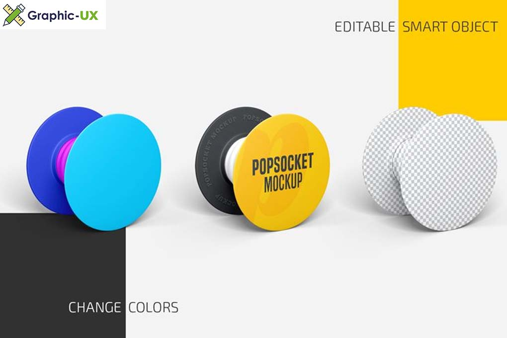 Popsocket Mockup Set