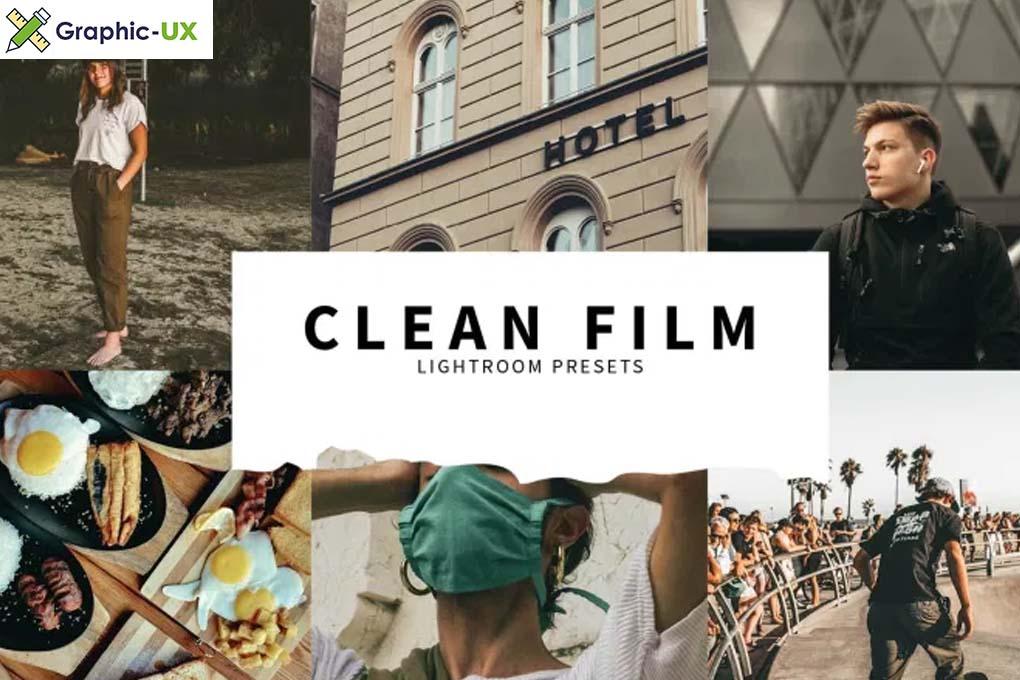 10 Clean Film Lightroom Presets