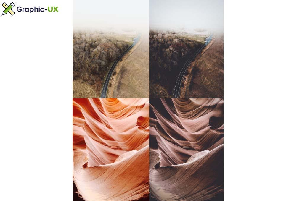 10 x Lightroom Moody Landscape