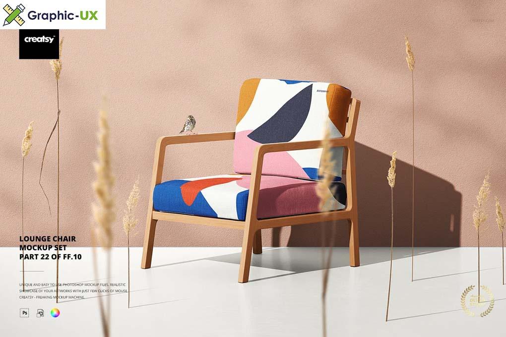 Lounge Chair Mockup Set