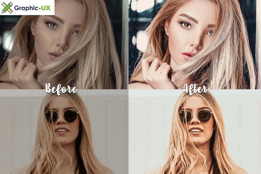True Blonde Lightroom Presets Pack