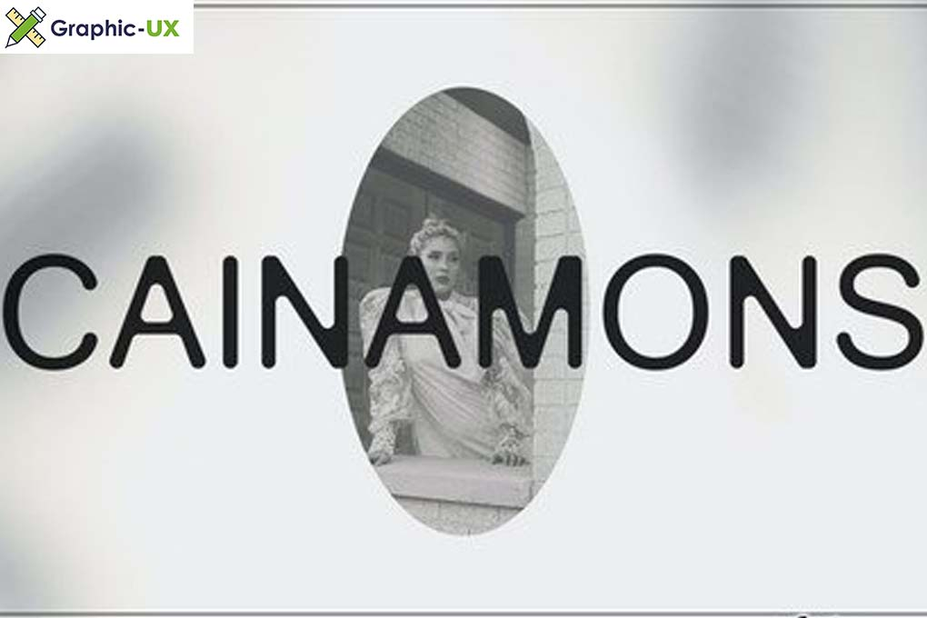 Cainamons Vintage Font