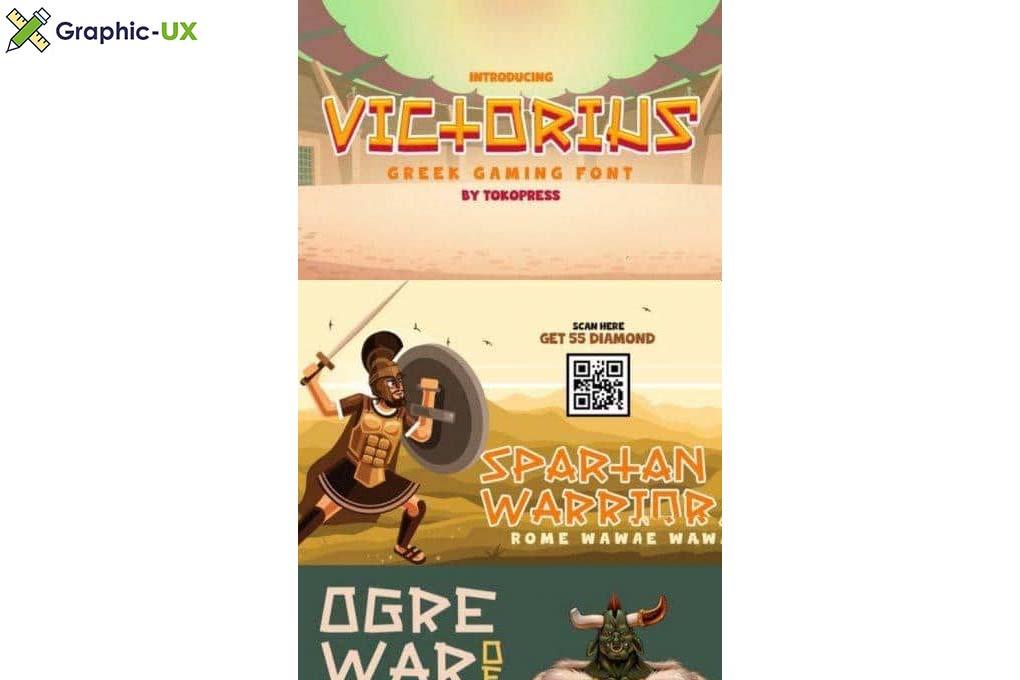 Victorius Gaming font