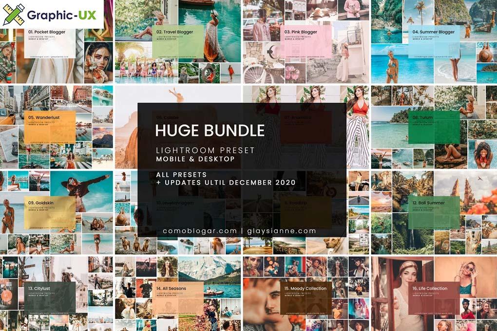 HUGE Bundle Presets (108 Packs)