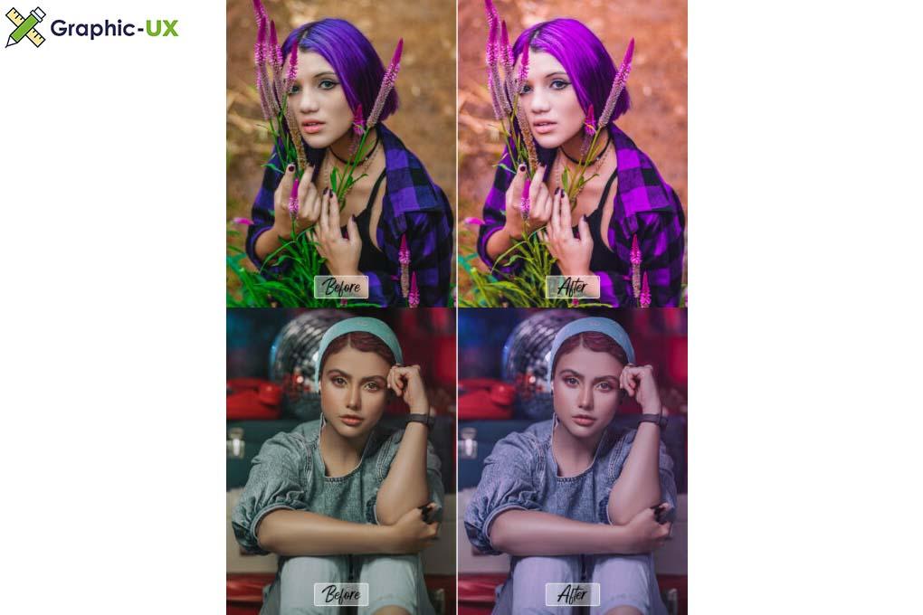 10 Pro Violet PS, ACR, LUTs filter