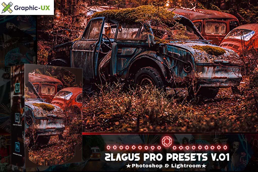 PRO Presets V 01 Photoshop & Lightroom