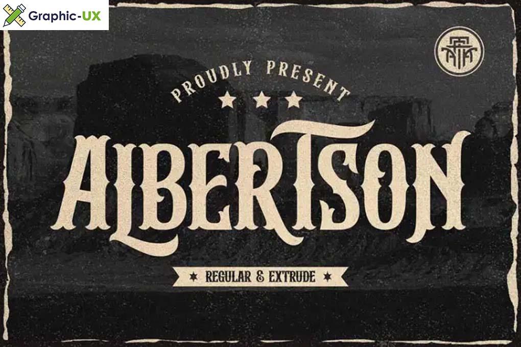 lbertson Font