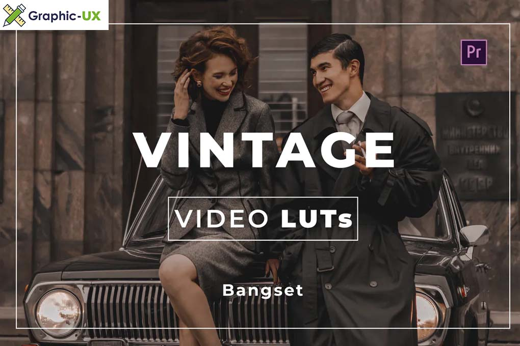 Bangset Vintage Video LUTs