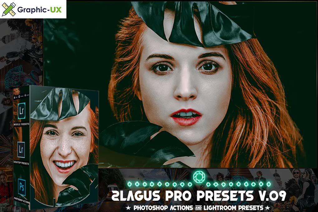 PRO Presets - V 09 - Photoshop & Lightroom