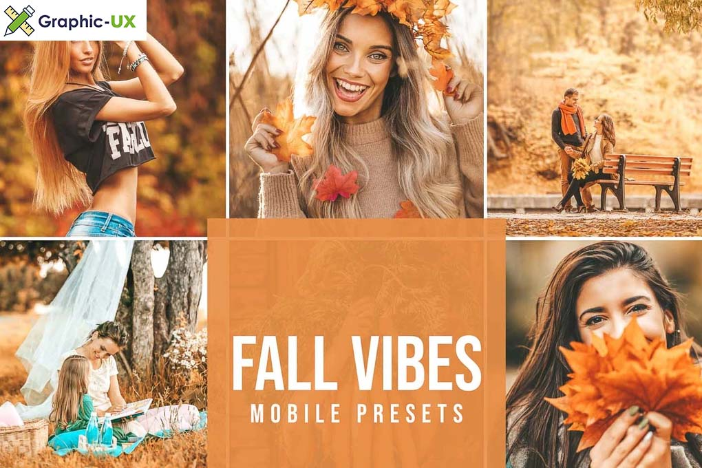 FALL VIBES Mobile Lightroom Presets