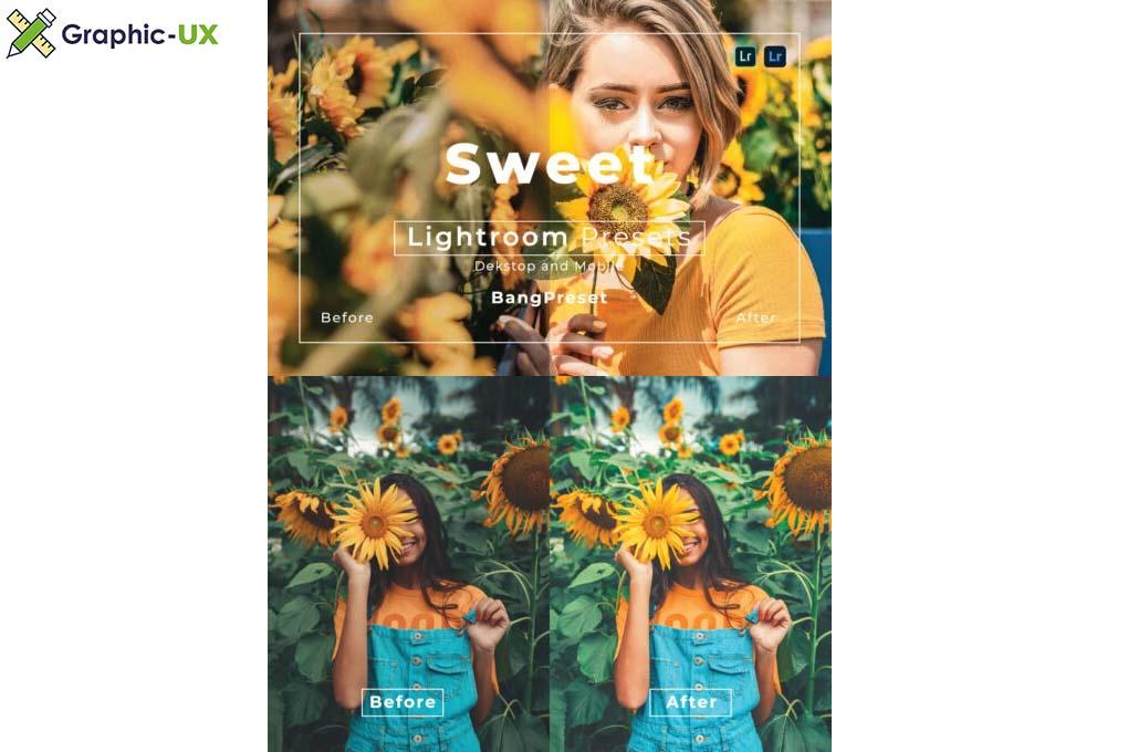 Sweet Desktop and Mobile Lightroom Preset Bundle