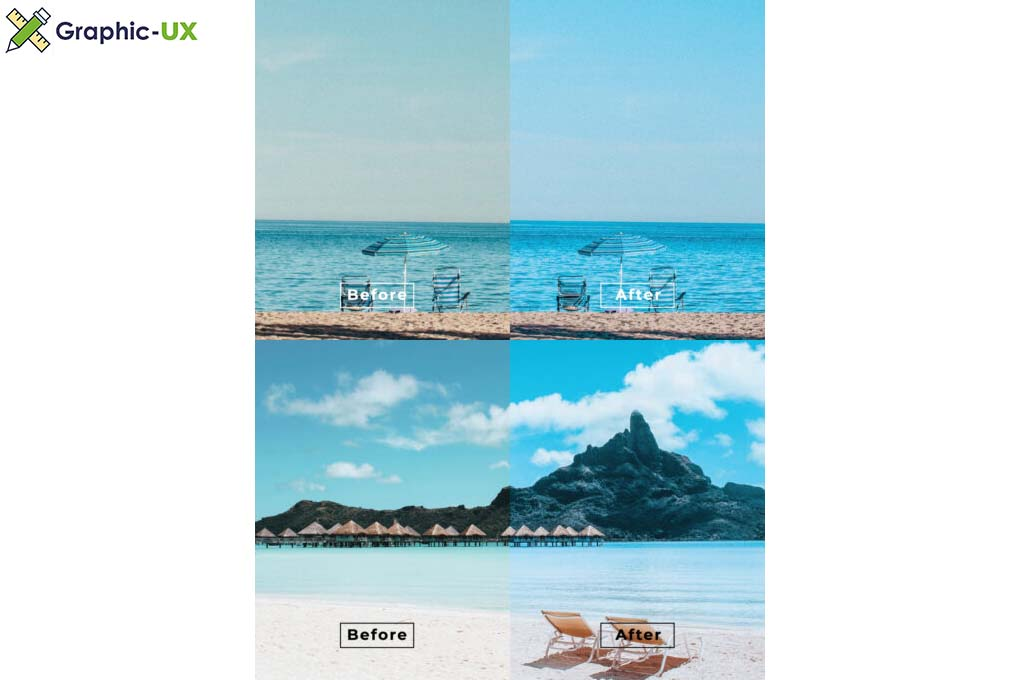 Beach Desktop and Mobile Lightroom Preset
