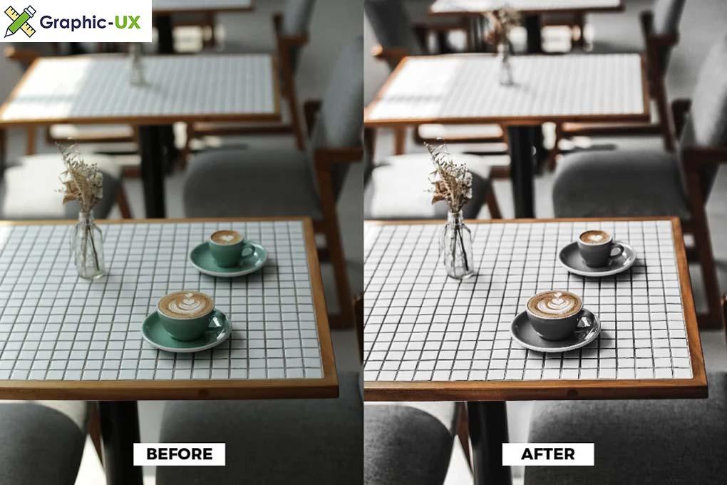 Grey Cafe Mood Lightroom Presets