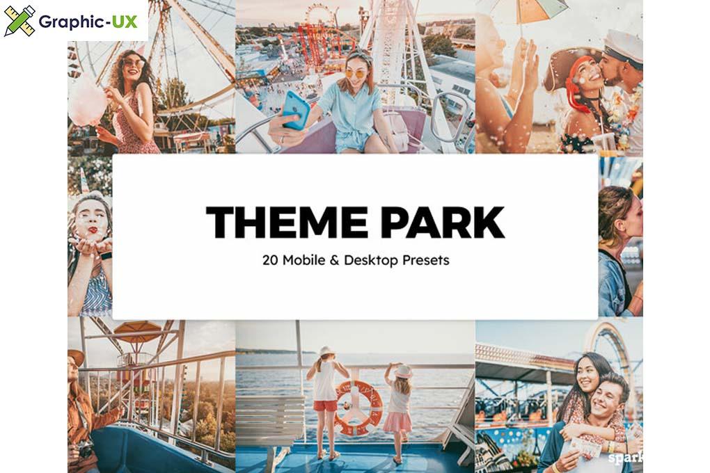 20 Theme Park Lightroom Presets & LUTs