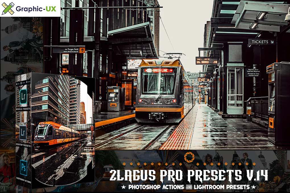 PRO Presets - V 14 - Photoshop & Lightroom
