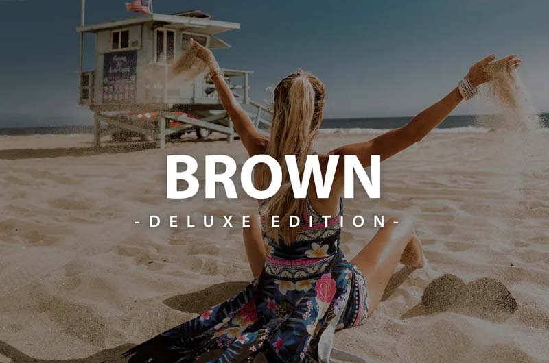 Brown Deluxe Edition  For Mobile and Desktop