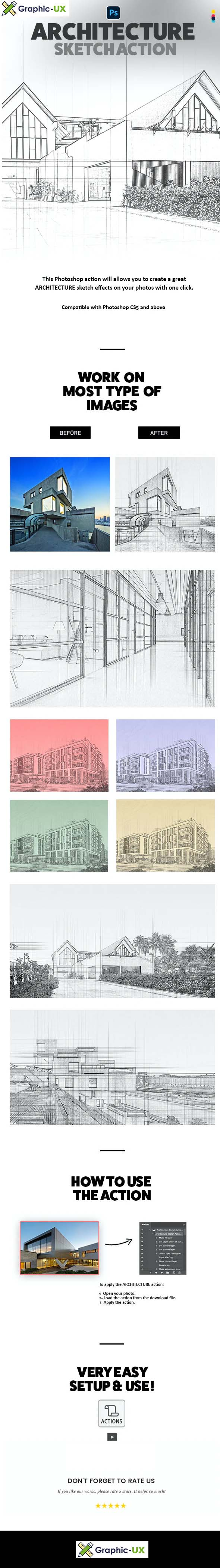 Architecture Sketch Action